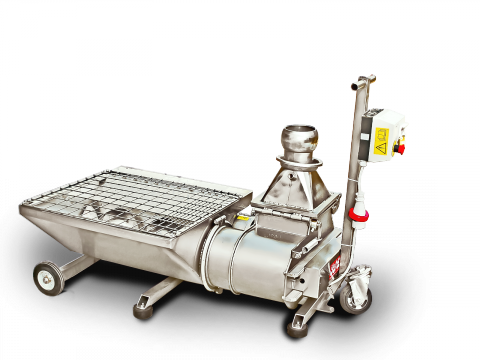 Elliptic rotor pump for grapes - marc G6-220
