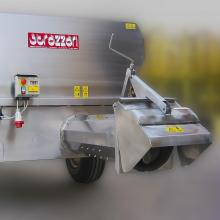 Trailer with auger G4 -electrical motor
