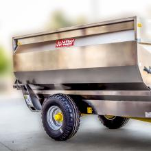 Trailer with auger G4  MC6 - hydraulic system