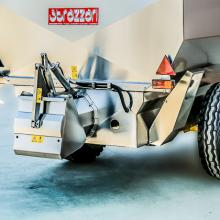 Trailer with auger G4 - hydraulic system