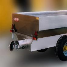 Trailer with auger G4 D.220